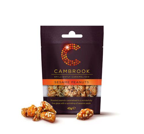 Obrázek Cambrook oříšky karamelizované se sezamem 12 x 45 g