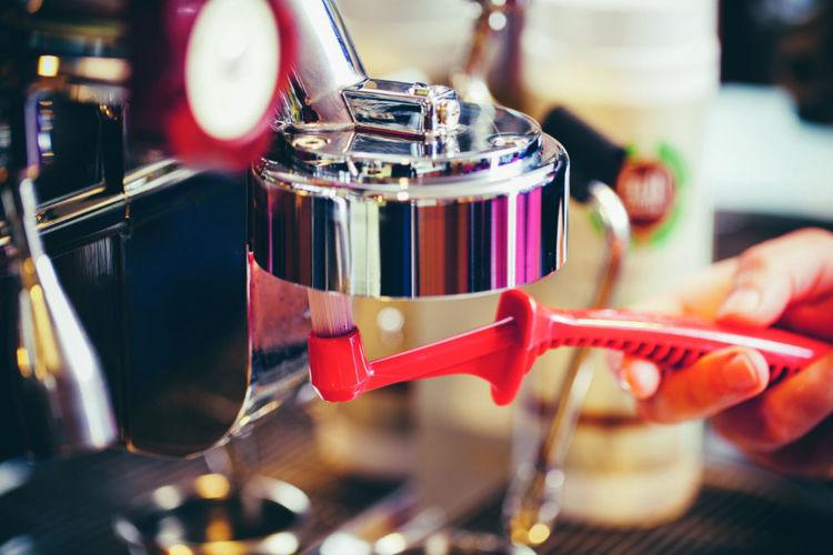 Obrázek Kartáček na čištění hlavy kávovaru