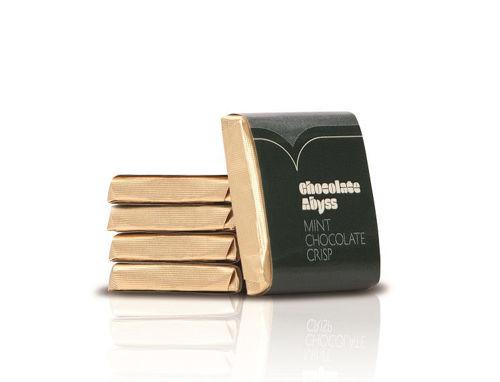 Obrázek Čokoládka Abyss s příchutí máty, 400 x 5 g