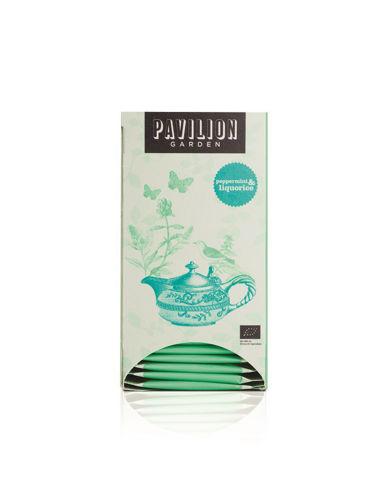 Obrázek Pavilion Garden čaj Máta & lékořice, 6 x 20 sáčků