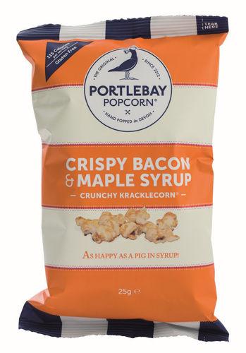 Obrázek PortleBay Popcorn Slanina & javorový sirup, 18 x 25 g