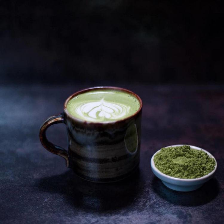 latte s matchou