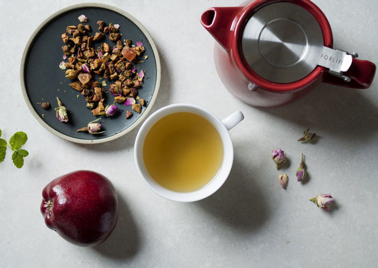 Obrázek Suki sypaný čaj Jablko & Máta, 250 g