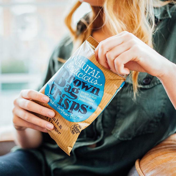 Obrázek Chipsy mořská sůl & ocet 20 x 40 g
