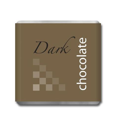 Obrázek Hořká čokoládka ke kávě, 200 x 5 g