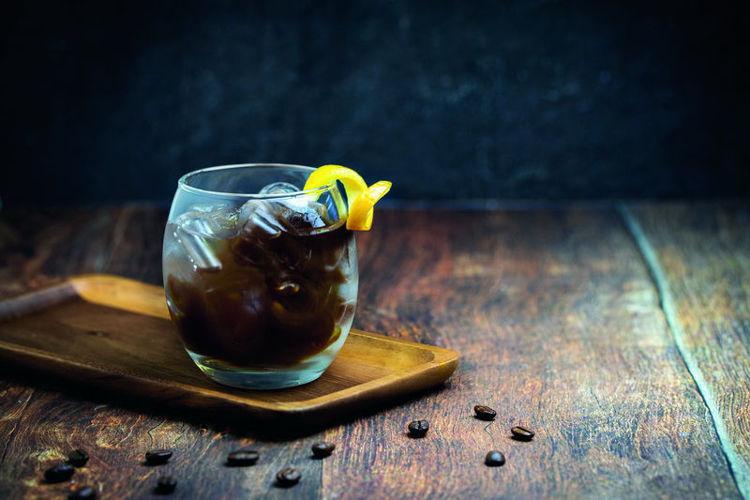 espresso spiced chai s pomerančem