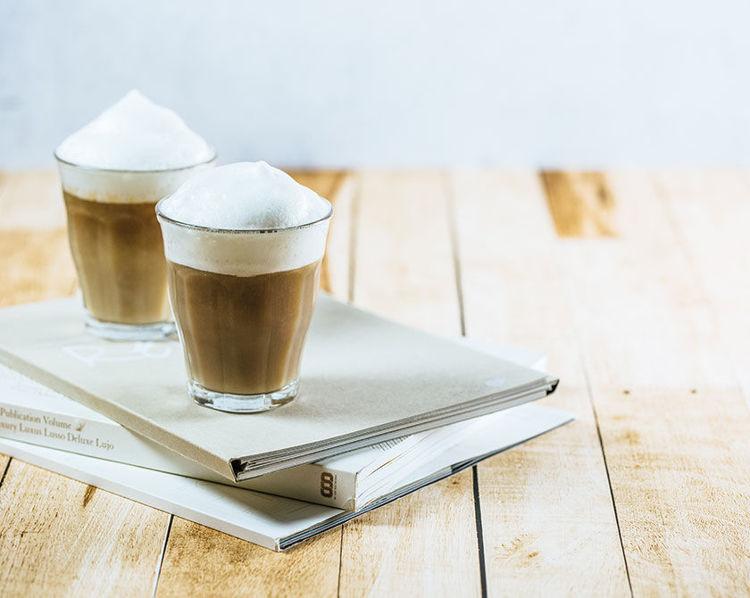 vanilkove latte