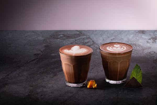 Horká čokoláda s pomerančem nebo s mátou