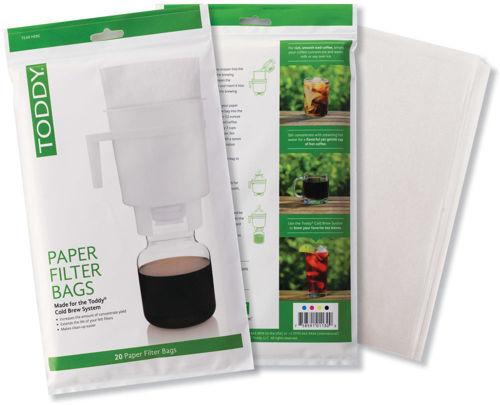 Obrázek Toddy cold brew papírové filtry, 20 ks
