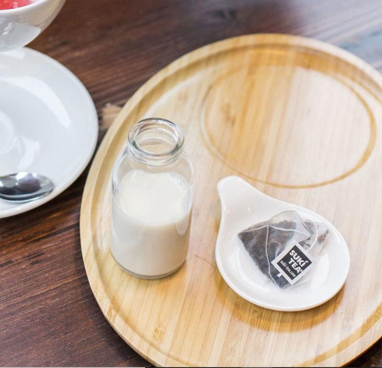 Obrázek ForLife konvička na čaj modrá, 530 ml